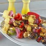 Spicy Honey Vegetable Kabobs