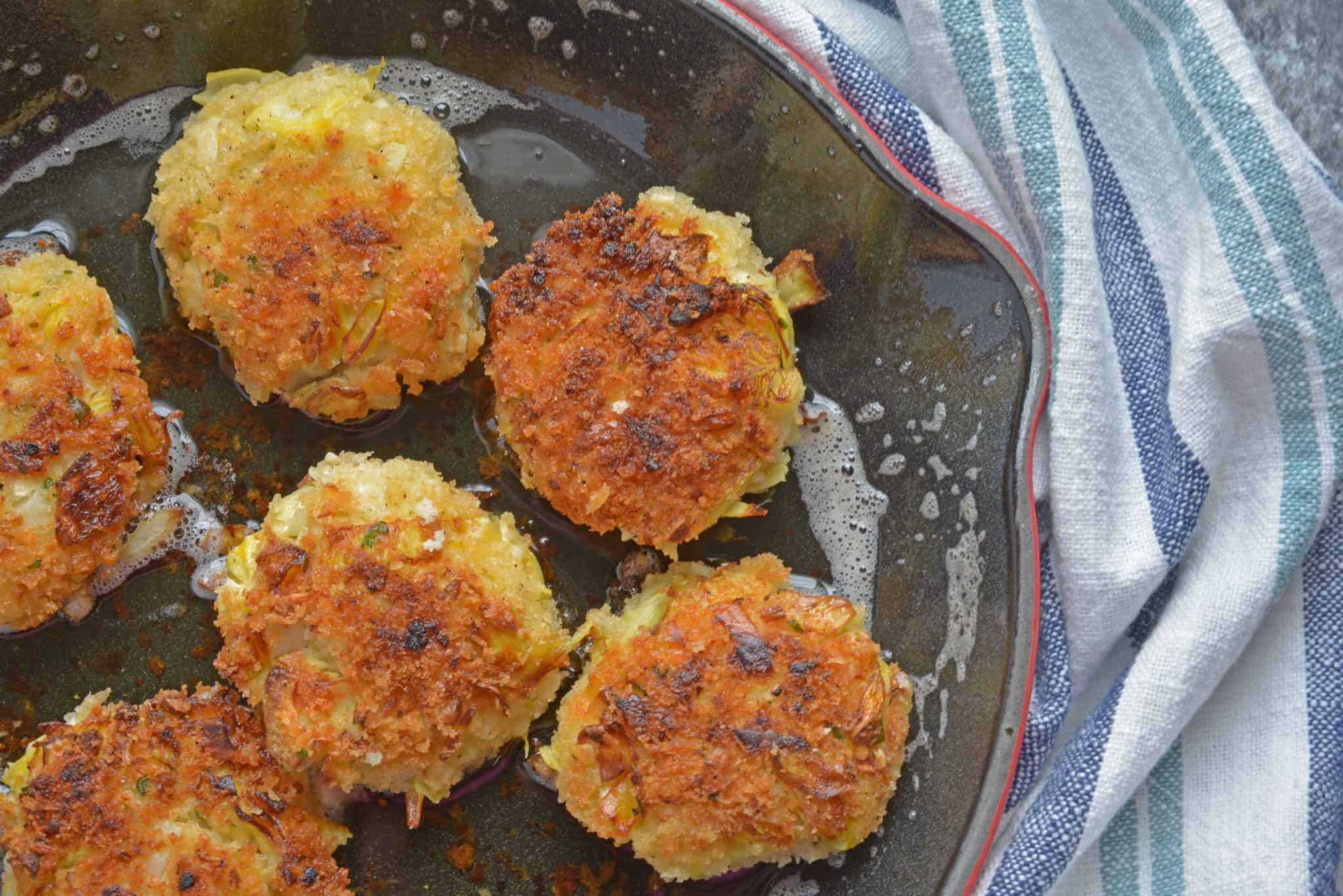 Hearts Of Palm Cakes Video Hearty Vegetarian Crab Cakes
