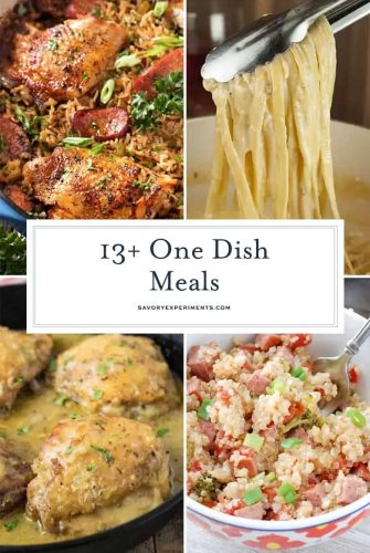 13+ One Dish Meal Ideas Collage