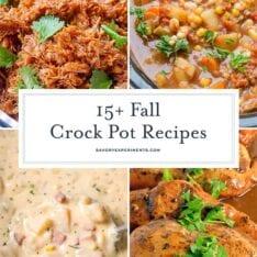 fall crock pot recipes