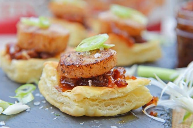 Bacon Jam Scallops