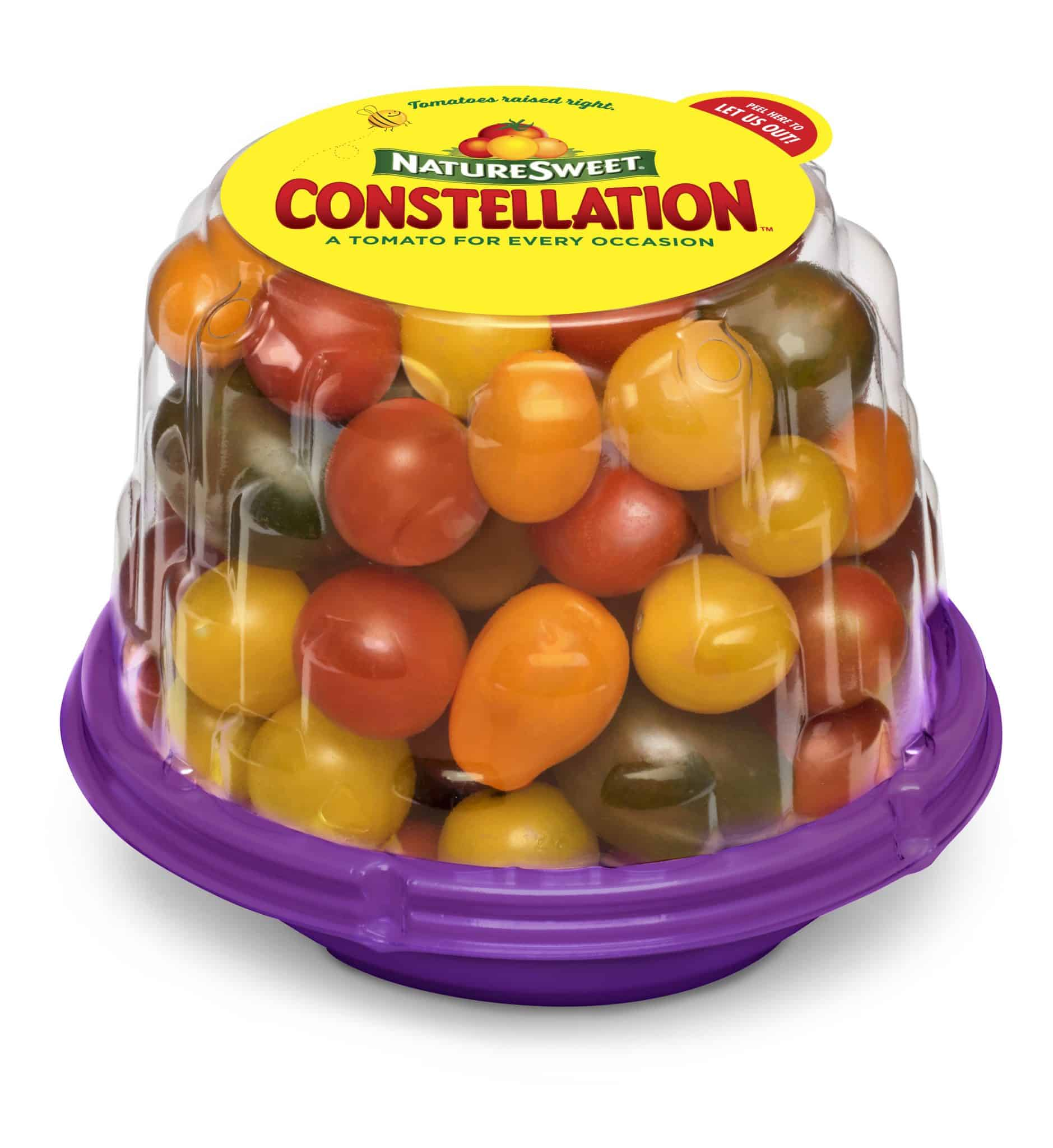 package of cherry tomatoes