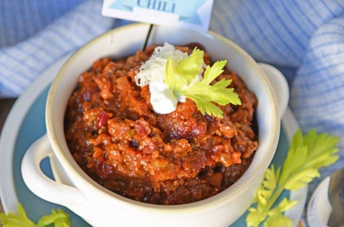 Blue Ribbon Award Winning Chili