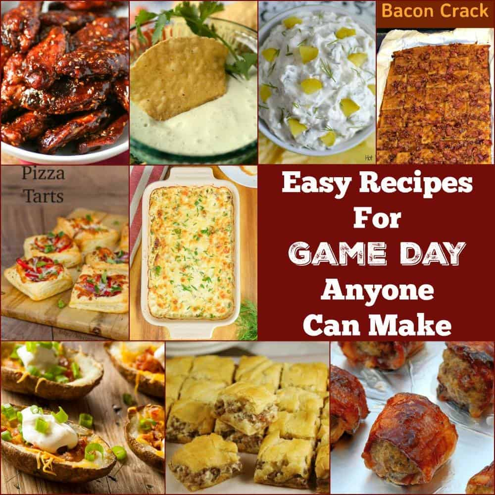 The BEST Game Day Recipes- make something new and exciting for this year's football party!