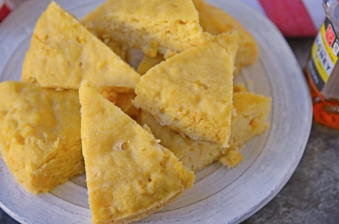 Instant Pot Sweet Cornbread – Moist Cornbread made with honey!