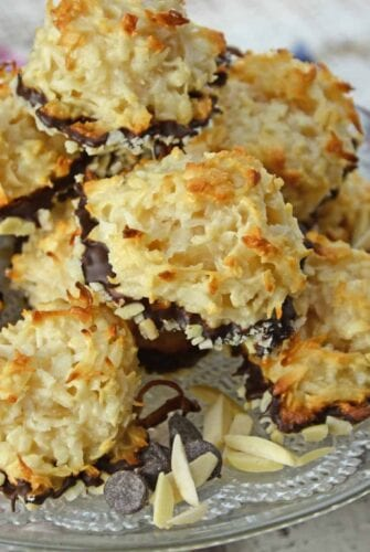 pile of coconut macaroons