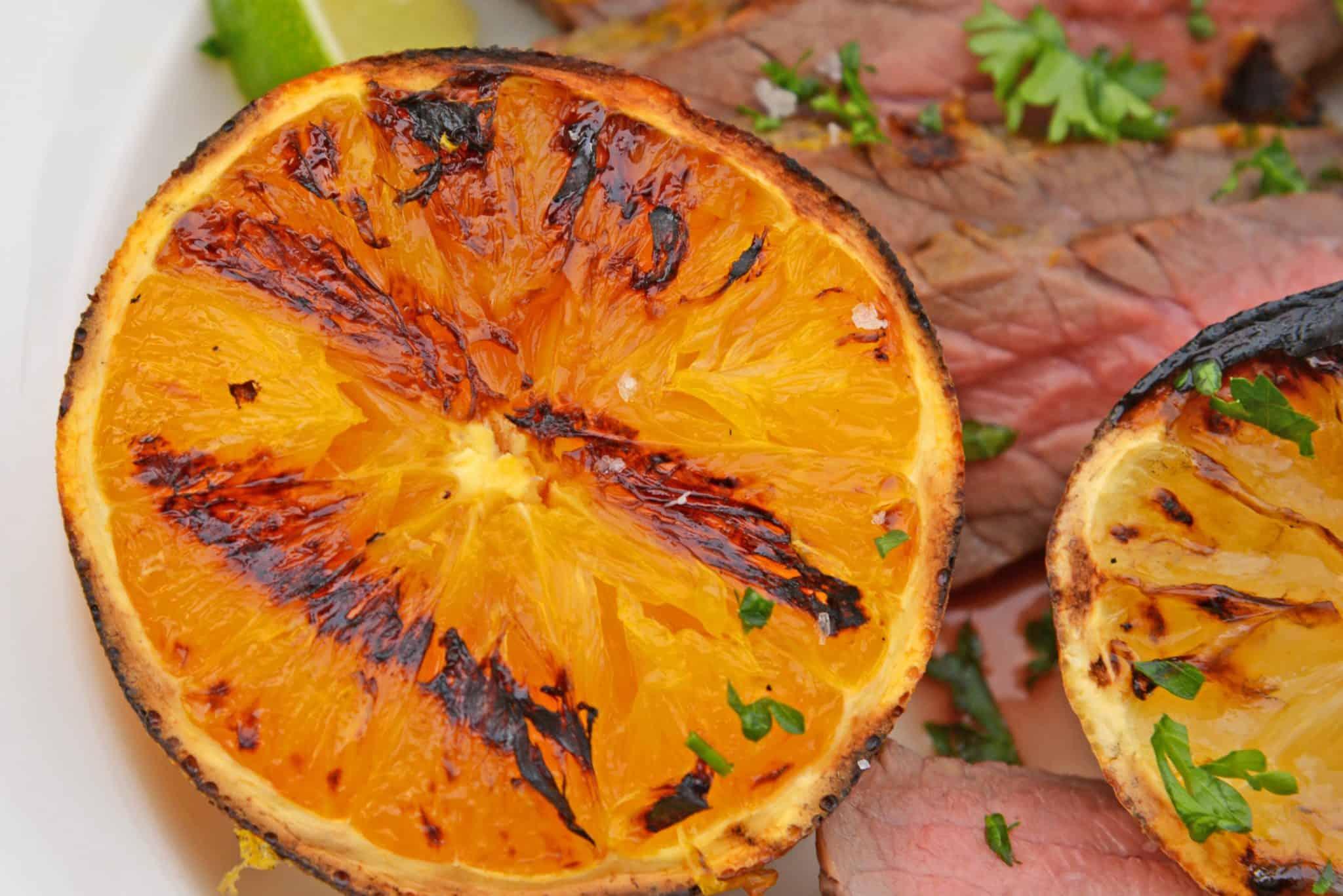 Charred Citrus