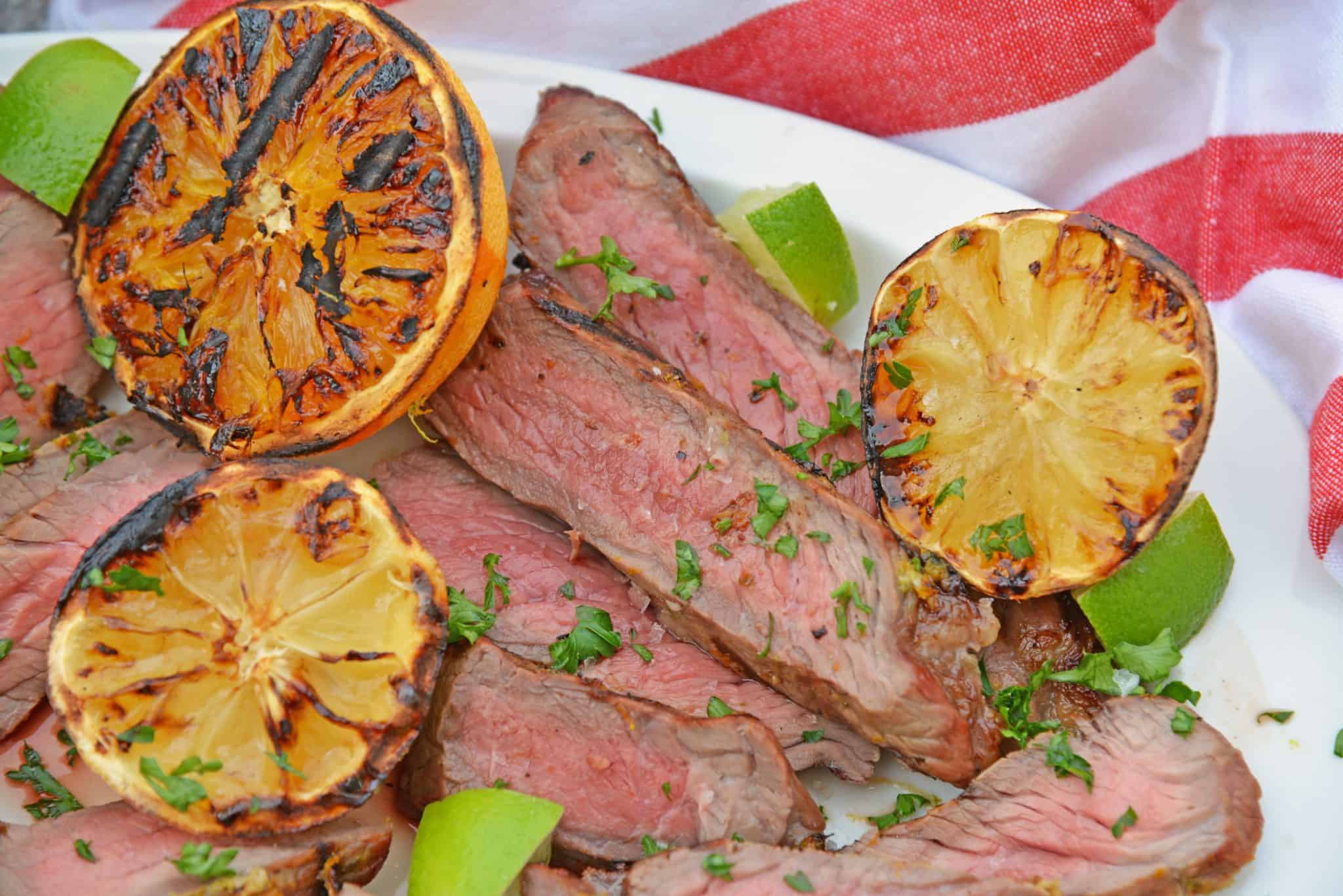 Citrus Steak Rub makes the best steak seasoning! With lemon, lime and orange zests, this is a dry rub that you will use over and over again. #steakdryrub #steakseasoning #beststeakdryrub www.savoryexperiments.com