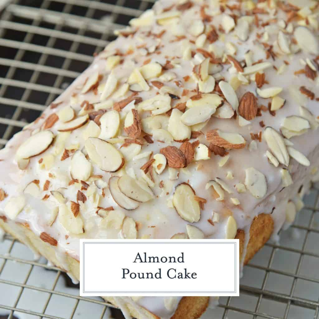 Overview of almond pound cake