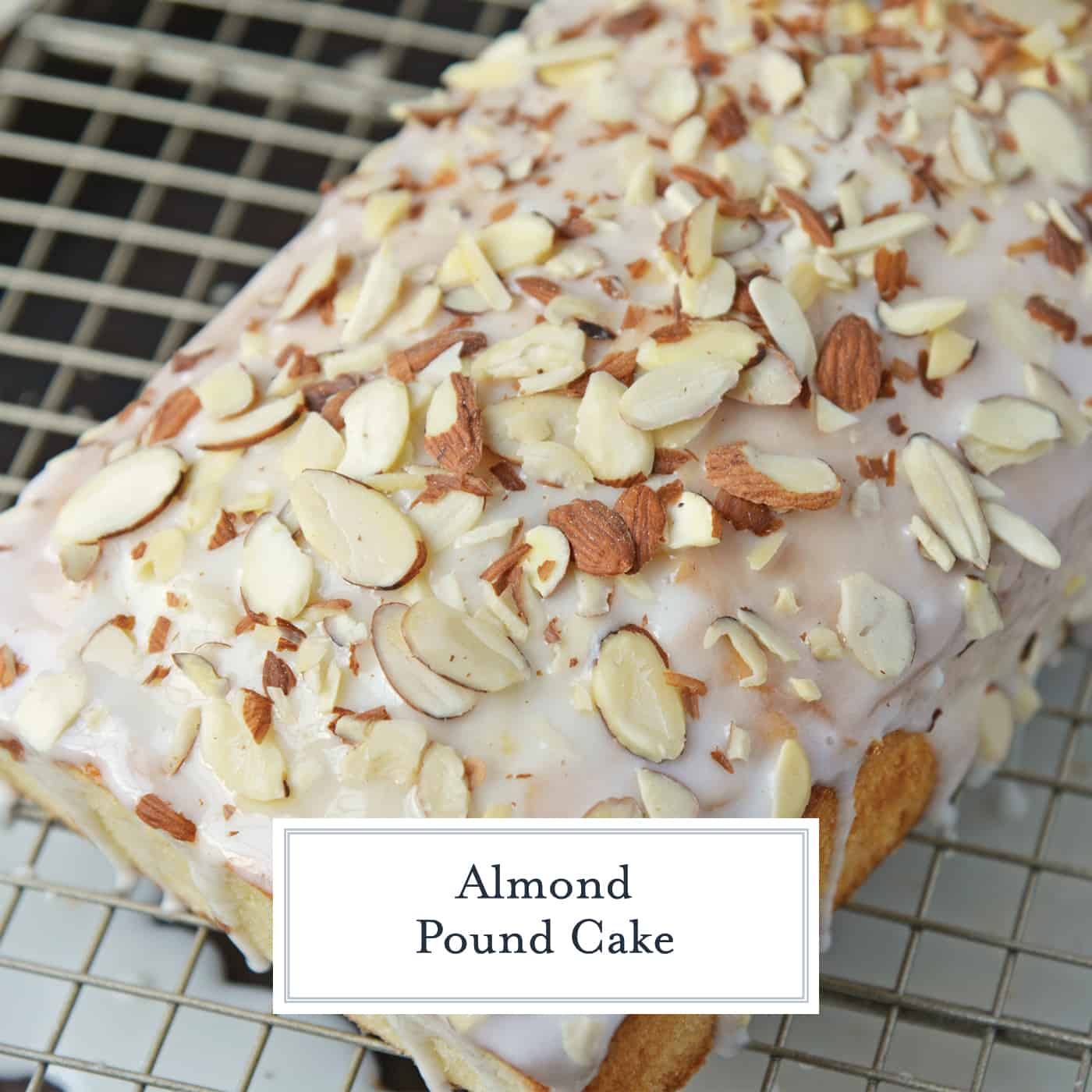 Almond Pound Cake The Best Pound Cake Recipe