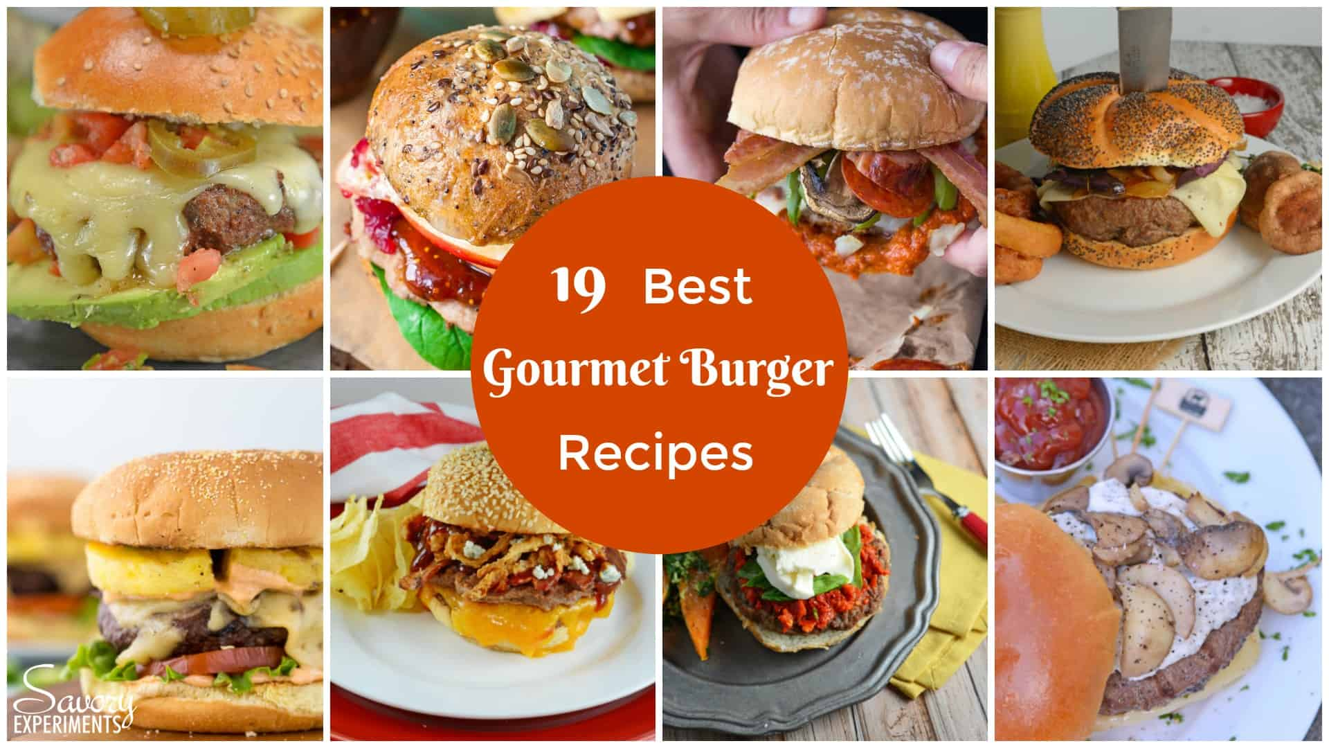 The Best Gourmet Burger Recipes Featured Image