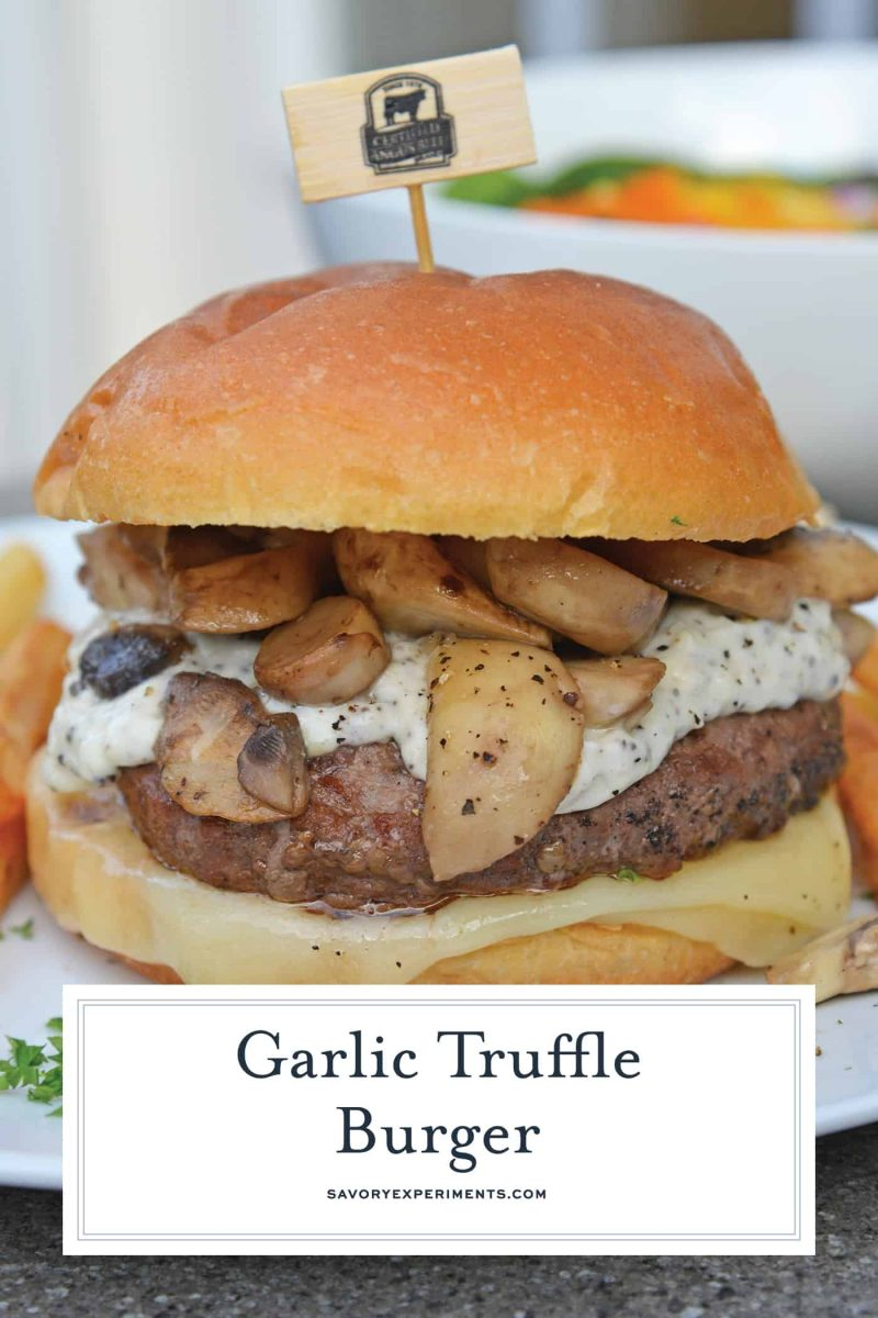 Burger with Truffle Mayo