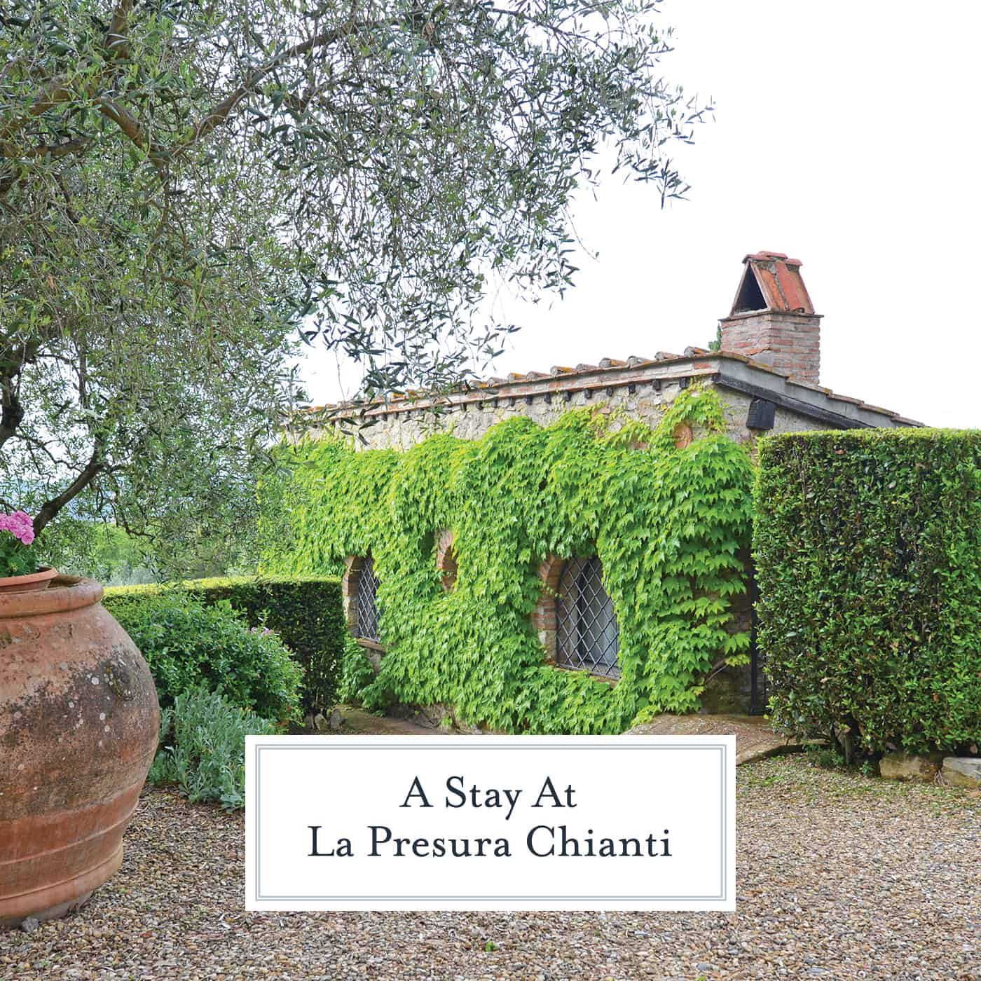 Planning your trip to Tuscany should include a visit to La Presura, a quaint location in Strada in Chianti. The perfect getaway from the bustle of Florence. #chianti #visittuscany www.savoryexperiments.com