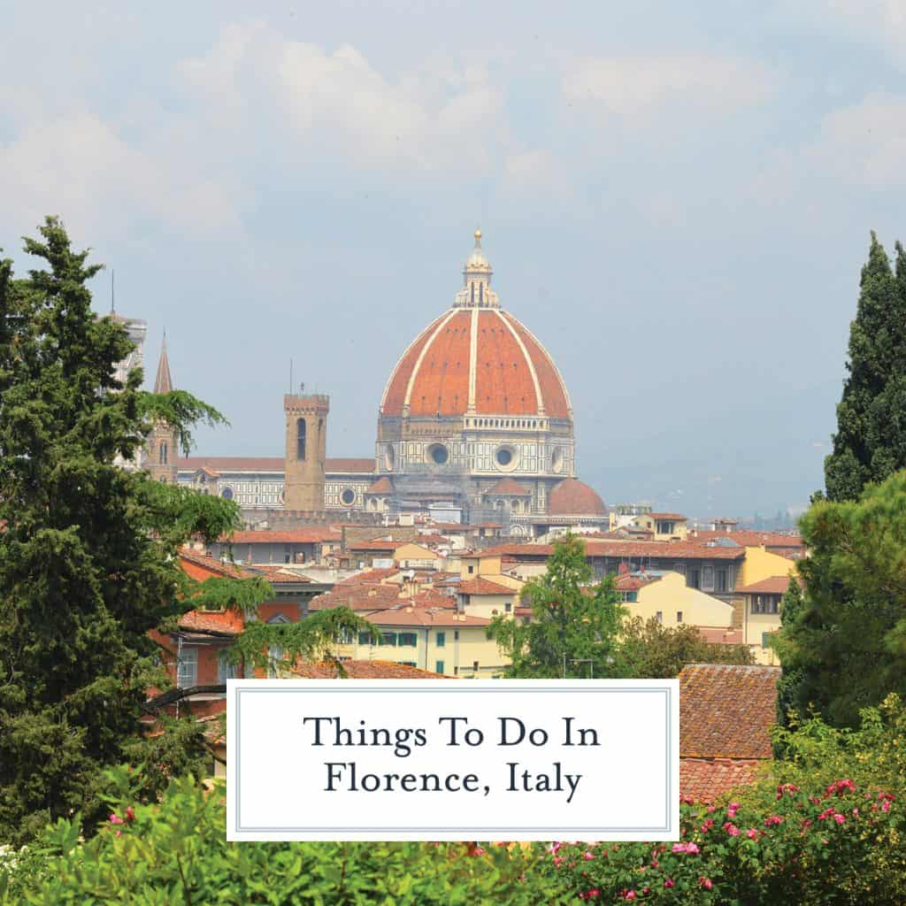Things to do in Florence, a city full of architecture, mystery, intrigue, art and of course, food!#florenceitaly #thingstodoinflorence www.savoryexperiments.com