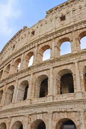 Day 3 of your Rome walk tour covers the Colosseum, Roman Forum, Palatine Hill, Arch of Constantine. Walk with the gladiators!