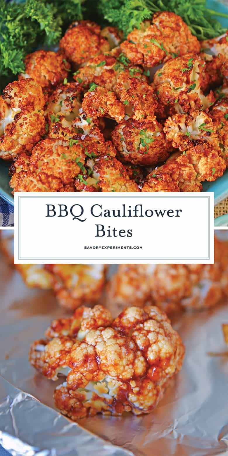 BBQ Cauliflower Bites
