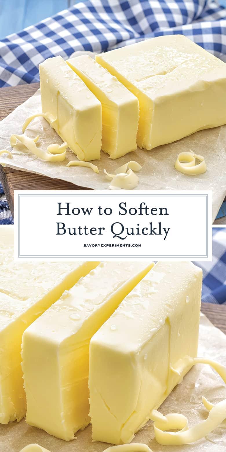 how to soften butter for pinterest