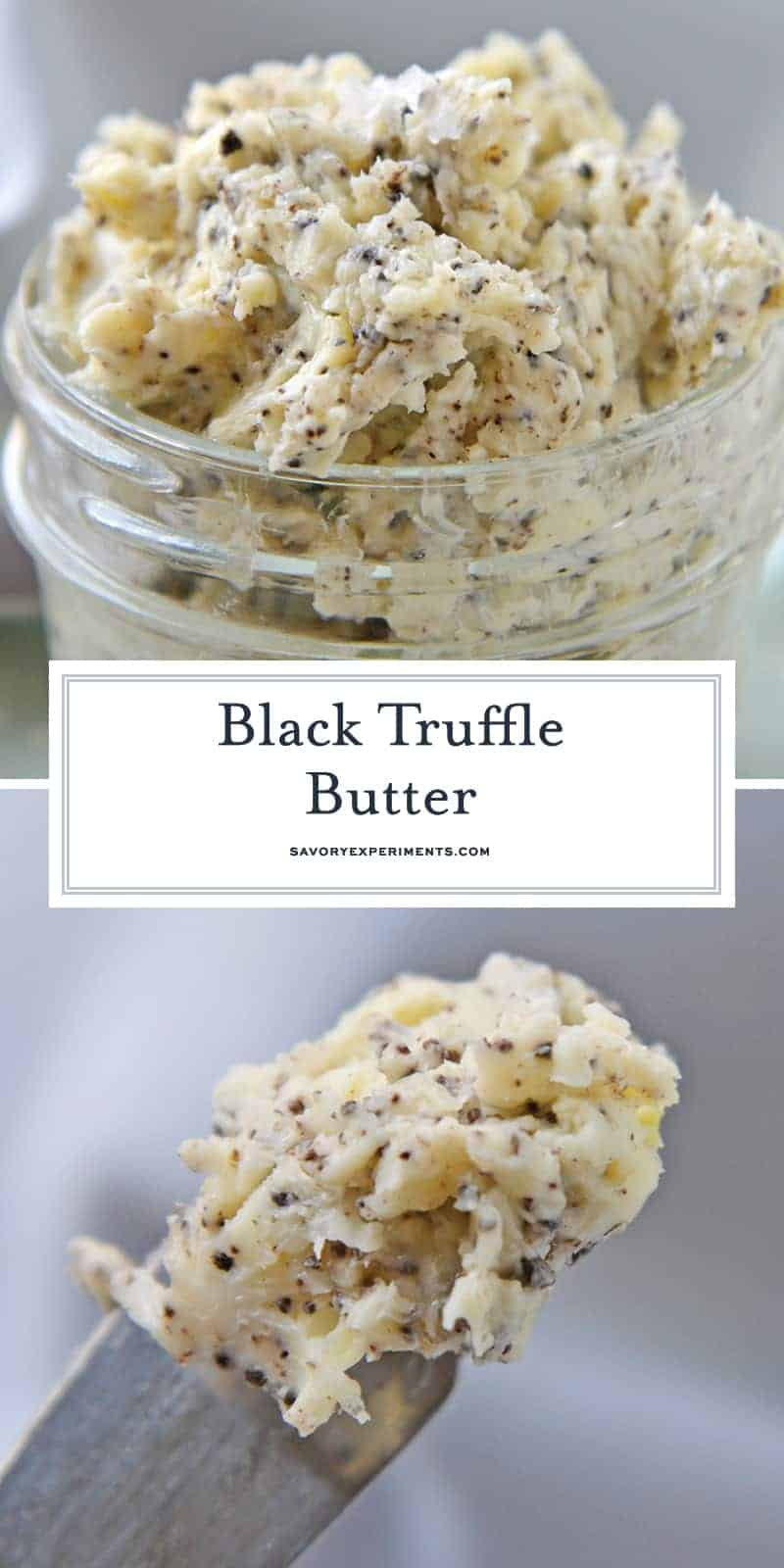 black truffle butter for pinterest