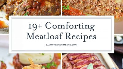 collage of meatloaf recipes