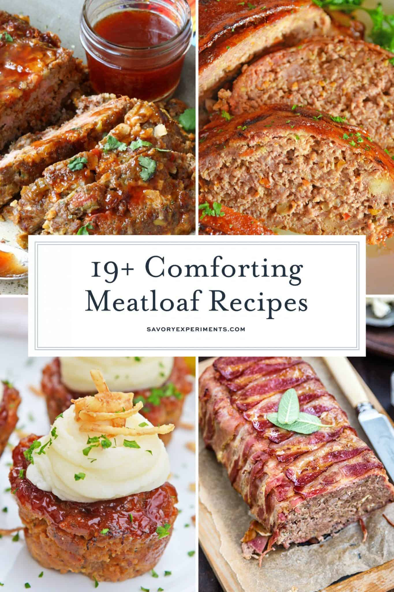 19+ Comforting Meatloaf Recipes you will want to make tonight!