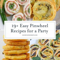 Pinwheel recipes collage