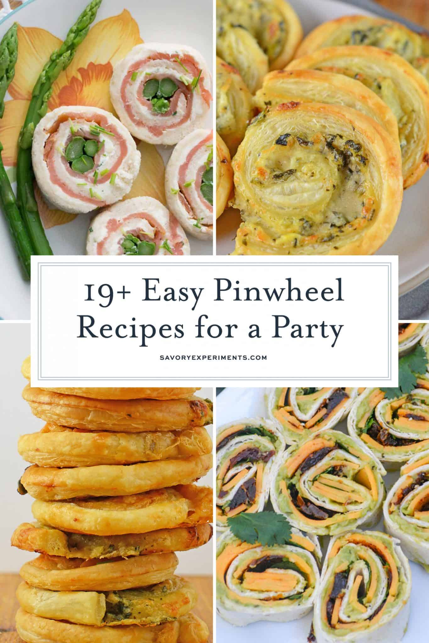 19 Easy Pinwheel Recipes For A Party Pinwheel Wrap Recipes