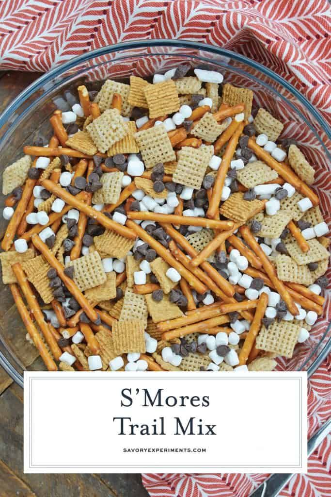 Smores Trail Mix for Pinterest