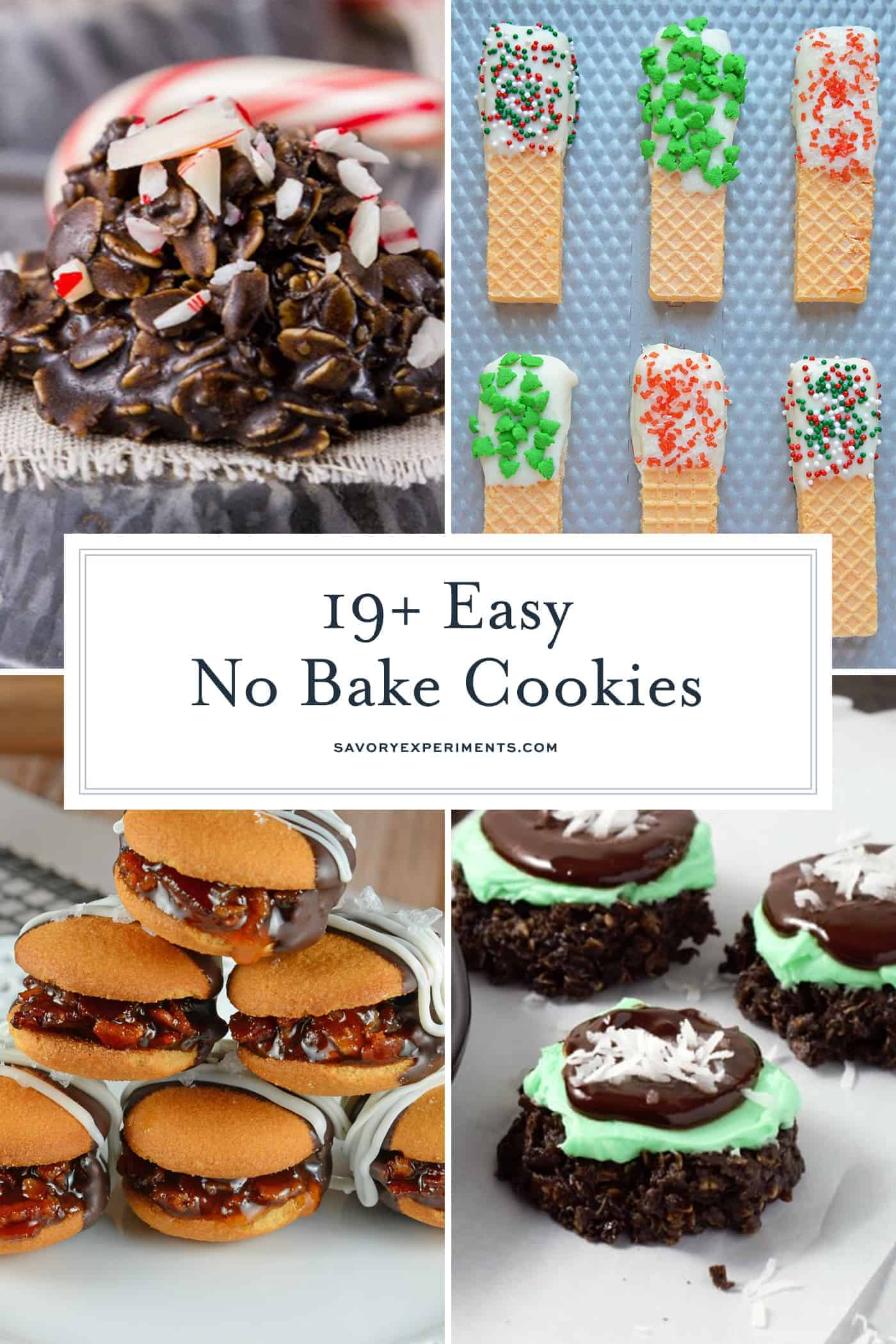 No Bake Cookie Recipes - Simple and Easy No Bake Cookies