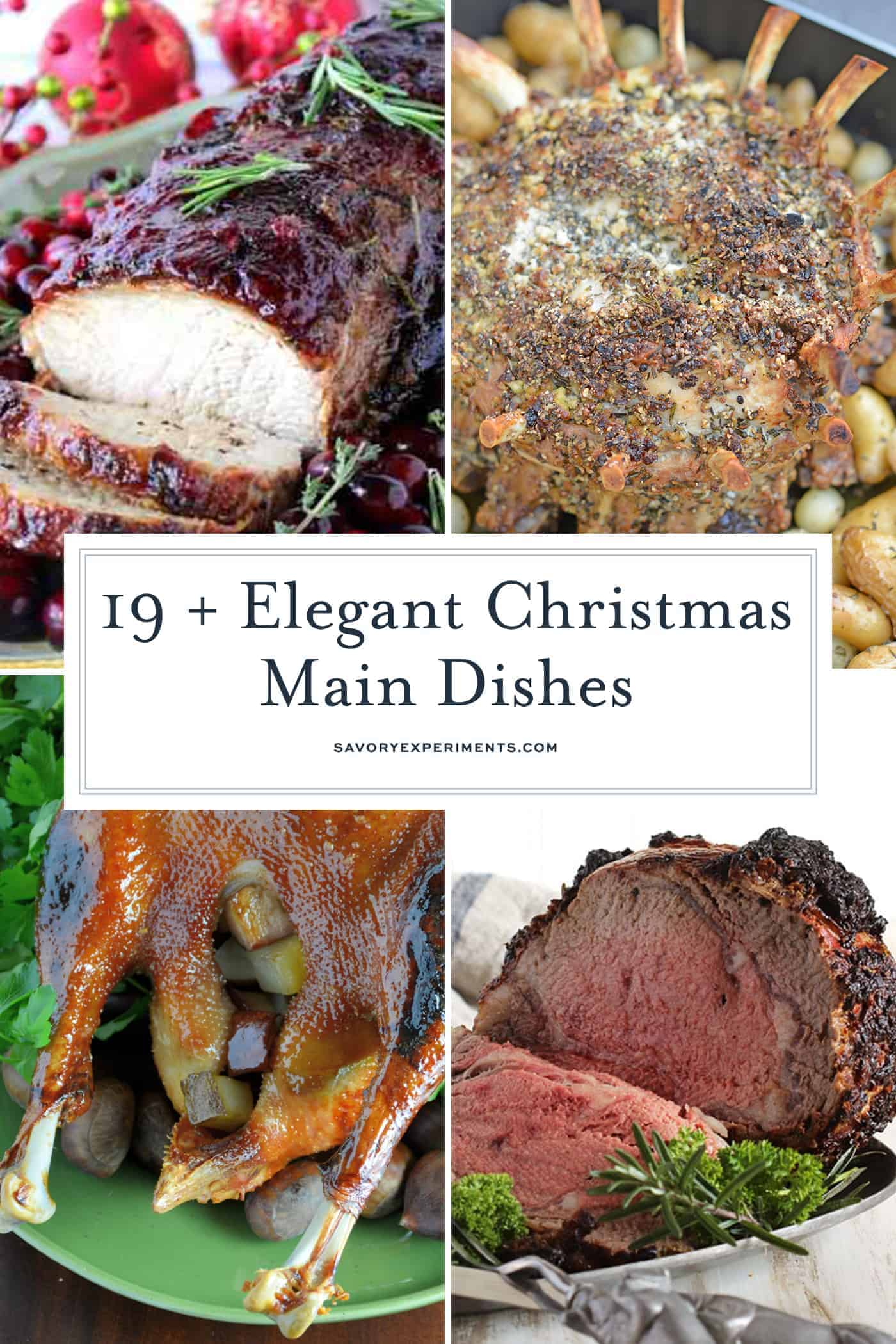 Festive Holiday Main Dish Recipes