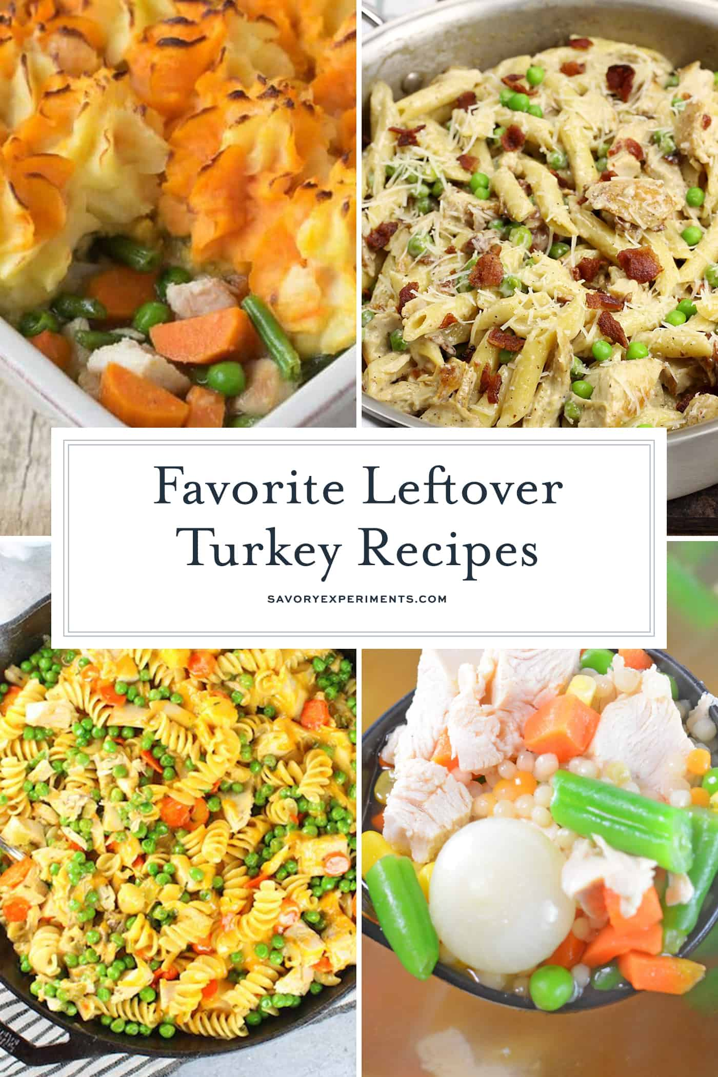 favorite leftover turkey recipes
