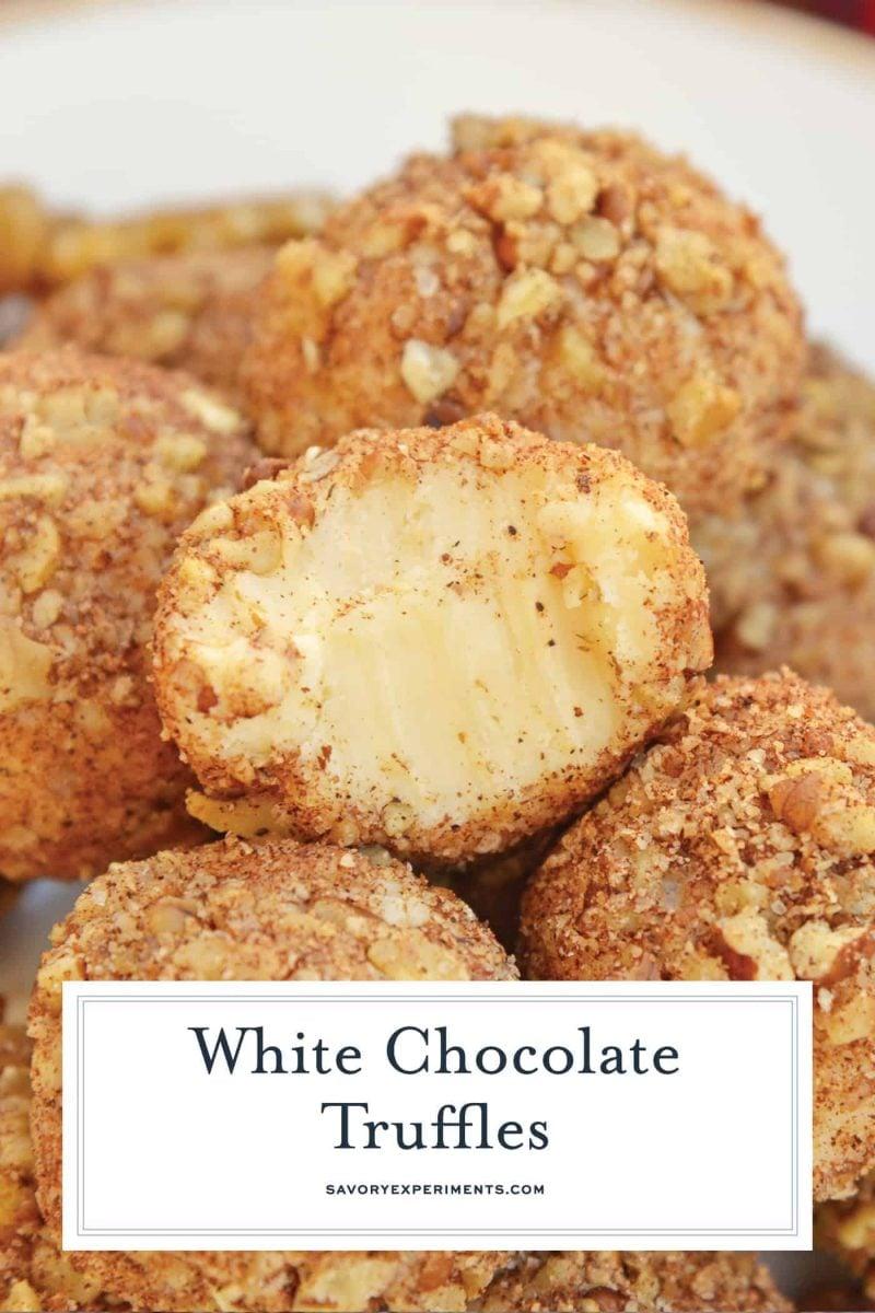 White chocolate truffles for pinterest