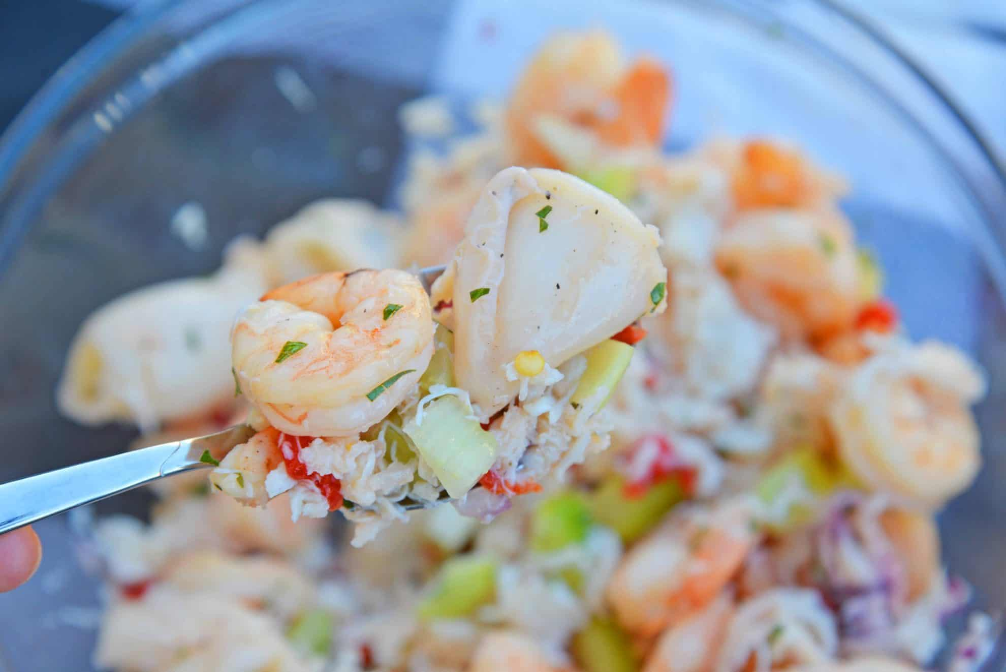 Italian Seafood Salad | How To Make Seafood Salad
