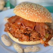 Homemade Sloppy Joes are so easy to make! Use my special sweet heat sloppy Joe sauce recipe with ground pork, beef, chicken or even turkey!#homemadesloppyjoes #sloppyjoesauce #sloppyjoerecipe www.savoryexperiments.com