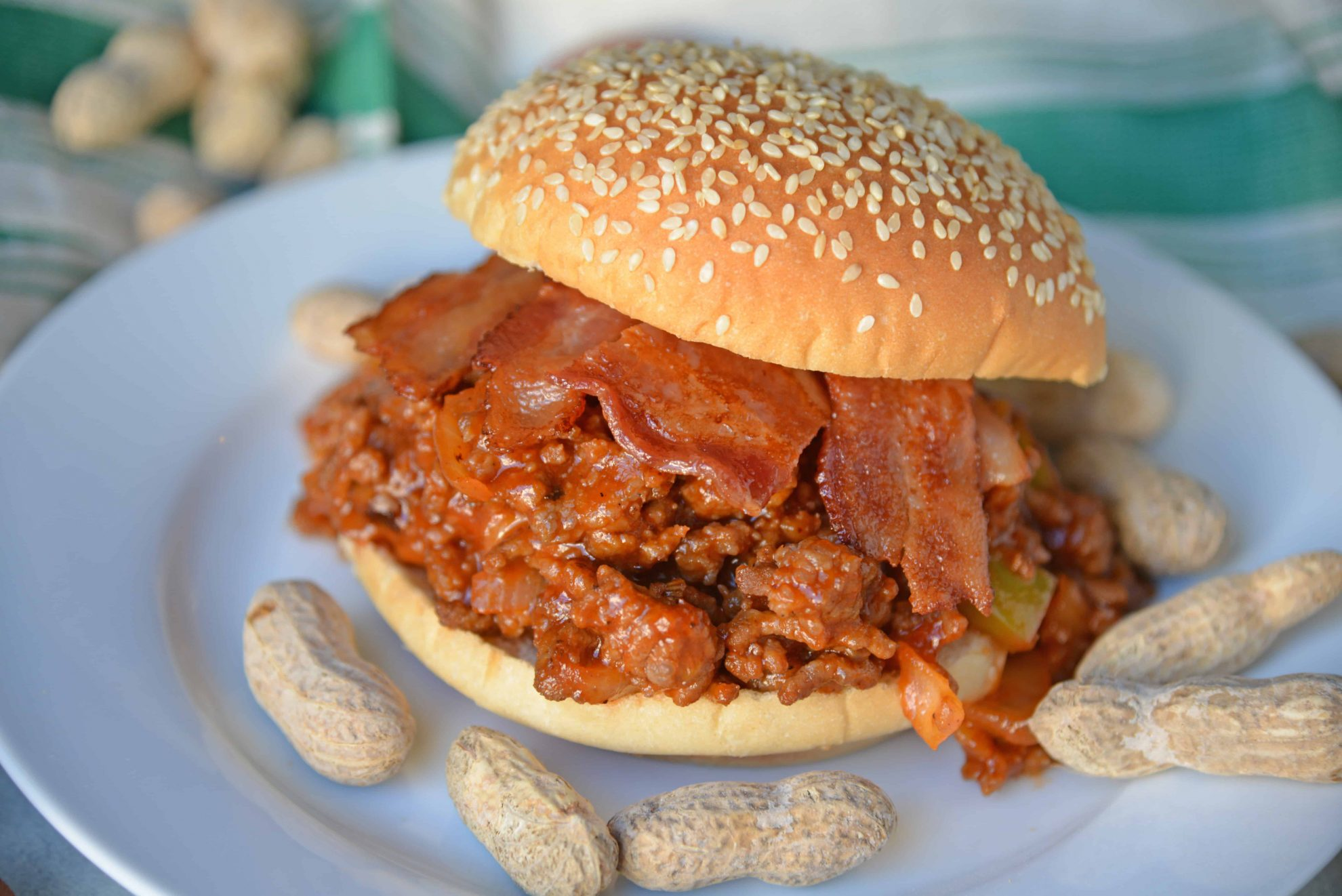 Homemade Sloppy Joes are so easy to make! Use my special sweet heat sloppy Joe sauce recipe with ground pork, beef, chicken or even turkey! #homemadesloppyjoes #sloppyjoesauce #sloppyjoerecipe www.savoryexperiments.com