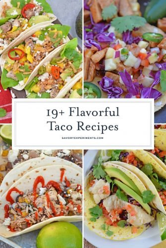 collage of best taco recipes