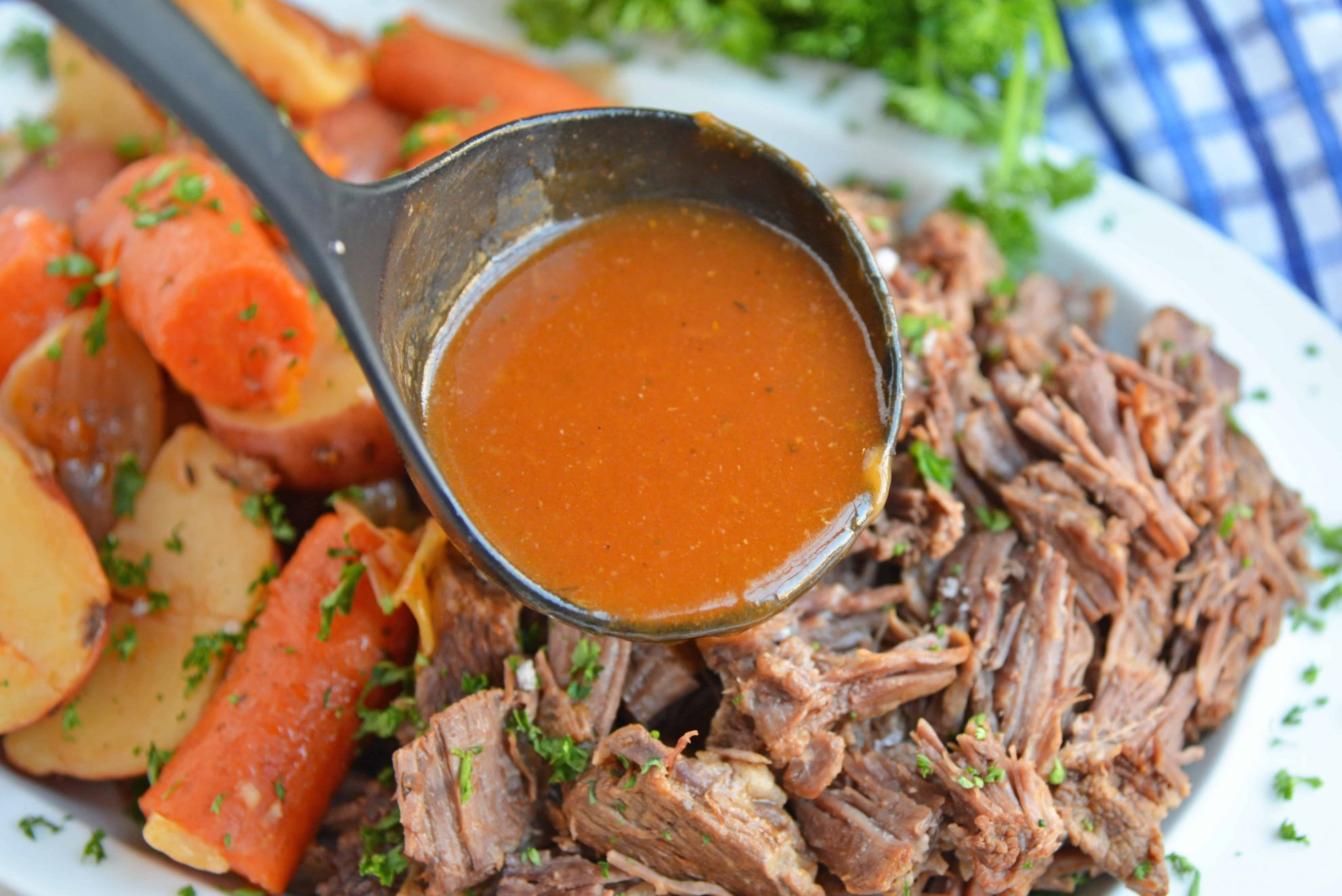Tomato Gravy for Pot Roast