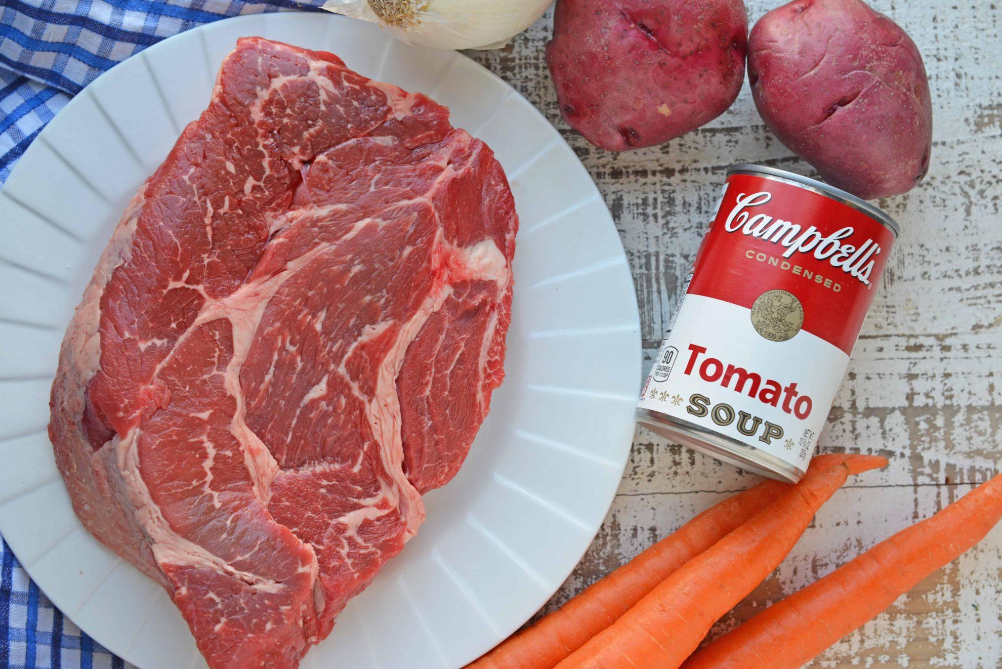 Raw Beef Chuck Roast