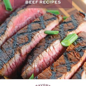 Easy Beef Recipes E Book Cover