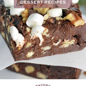 Easy dessert recipes e-book cover
