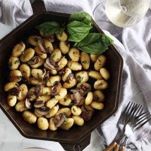 Mushroom and Gnocchi