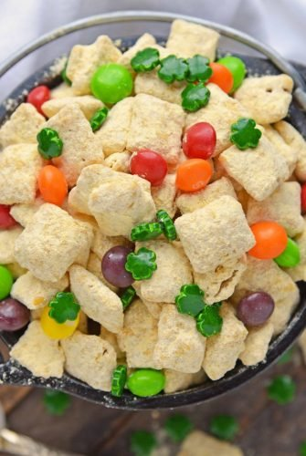 Bowl of Gold Puppy Chow