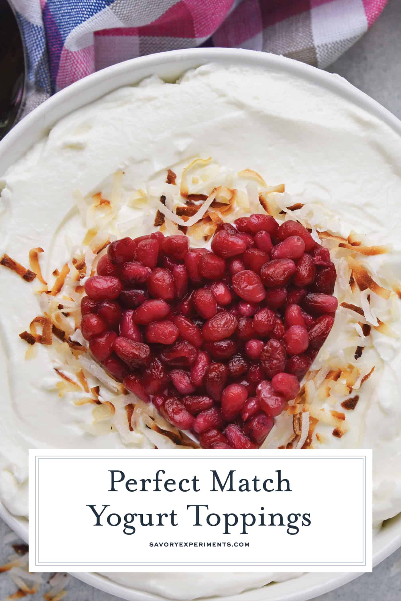Discover your perfect Yogurt Match, FAGE Total is perfect for yogurt bowls, marinades, salad dressings, sour cream substitutes and even baking! AD #PlainExtraordinary #FAGE @FAGEUSA www.savoryexperiments.com