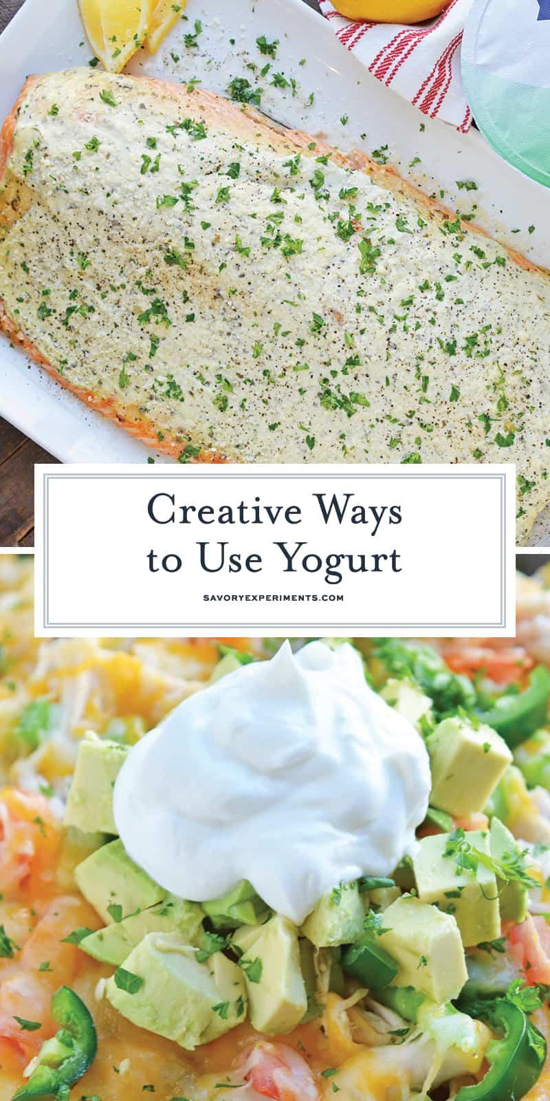 Creative ways to use yogurt for pinterest