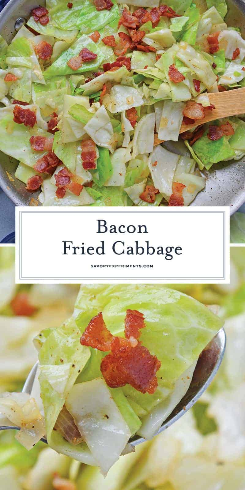Southern Style Cabbage for Pinterest