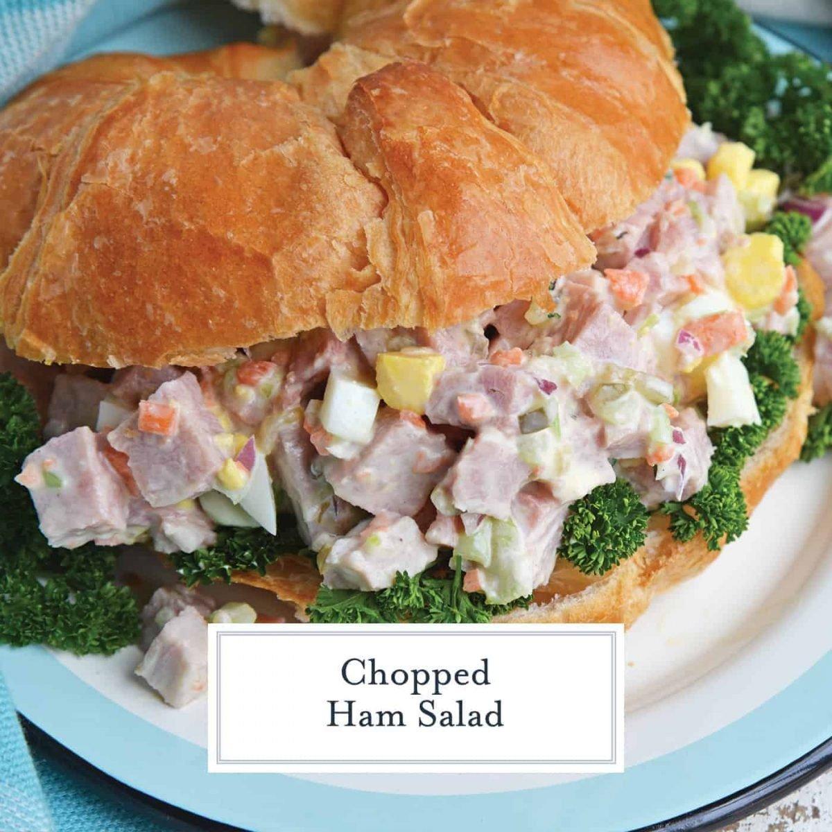 Ham Salad The Best Ham Salad Using Leftover Ham