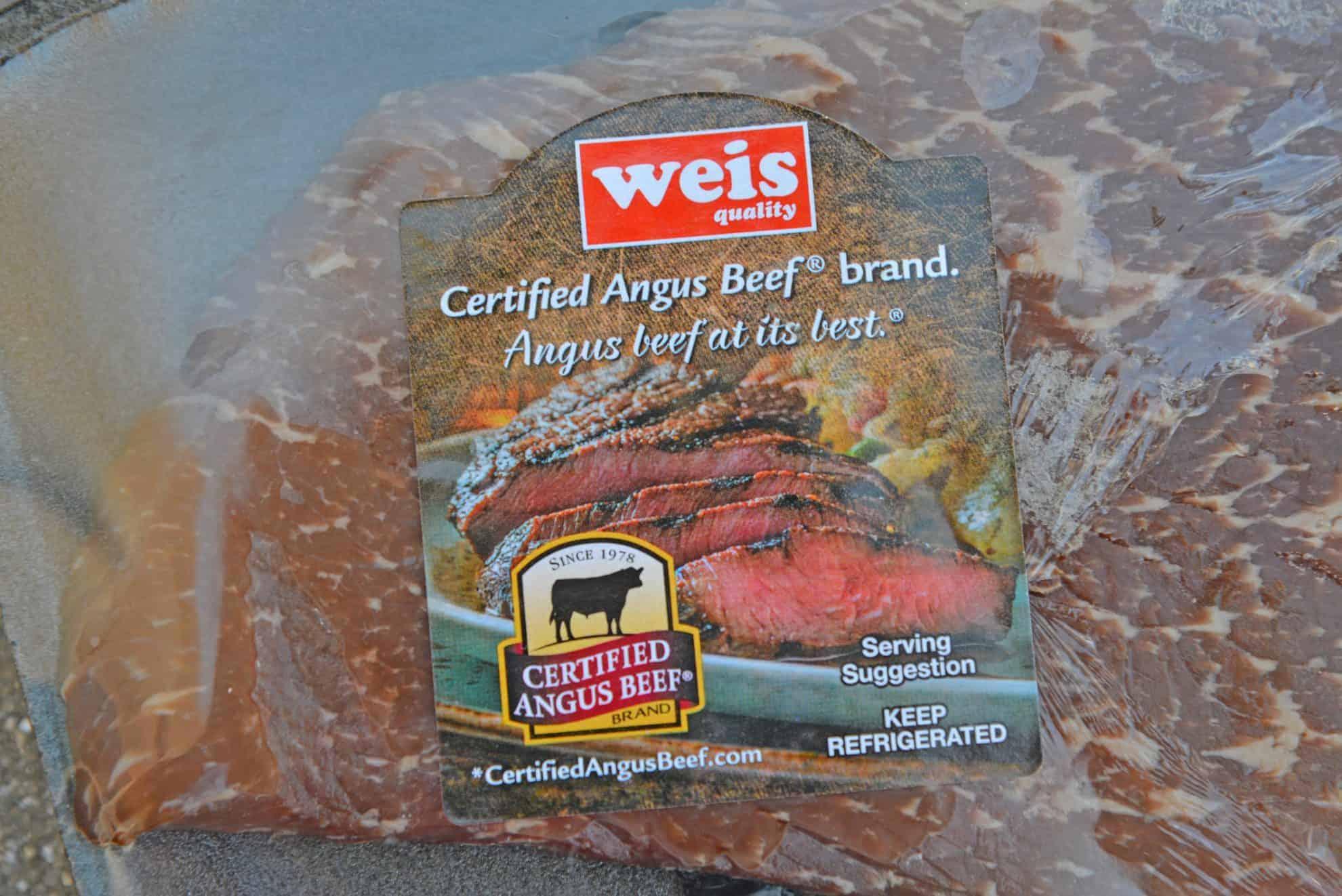 Certified Angus Beef brand beef