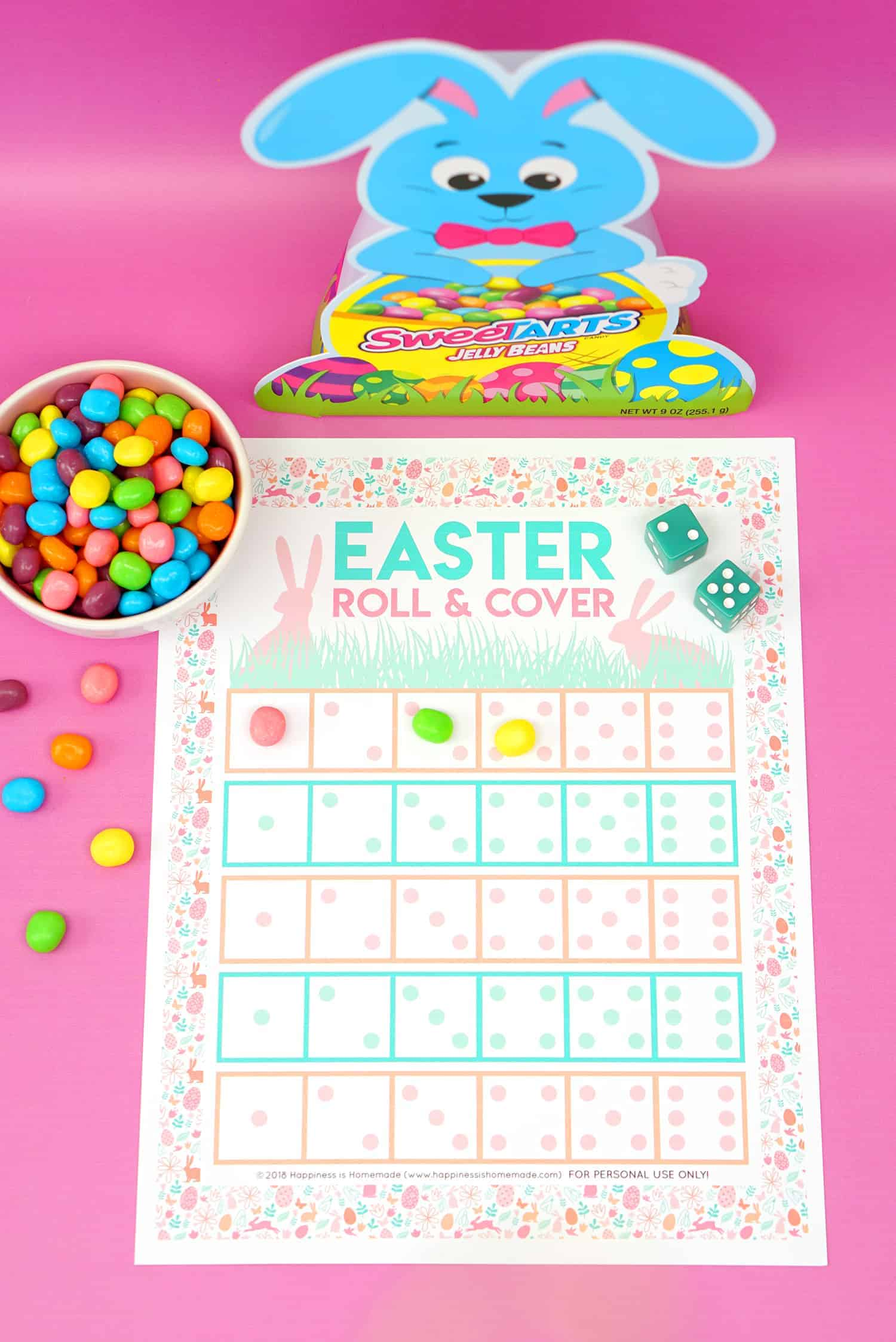 Easter egg and Bingo
