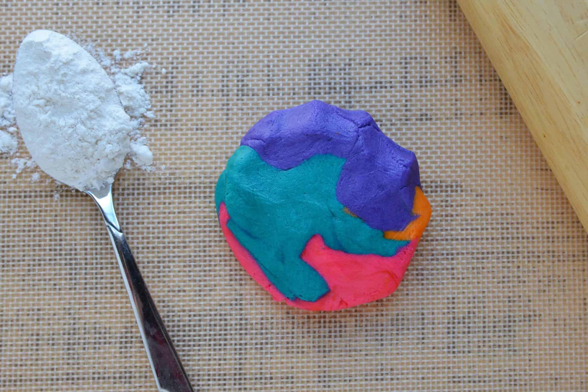 Tie Dye Sugar Cookie Dough