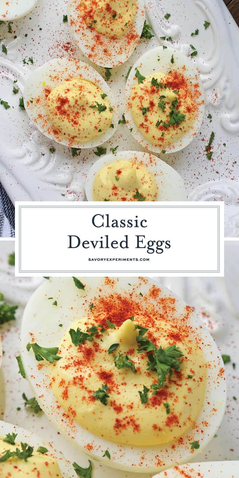 Classic Deviled Eggs How To Make Southern Deviled Eggs