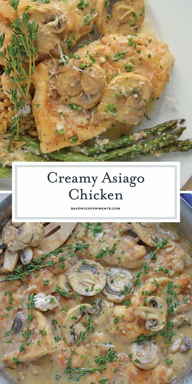 Asiago Chicken for Pinterest
